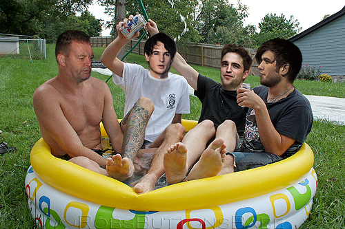 Manip letters to rob for Pool guy show